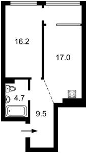 Квартира Правды просп., 13 корпус 10, Киев, Z-741544 - Фото2