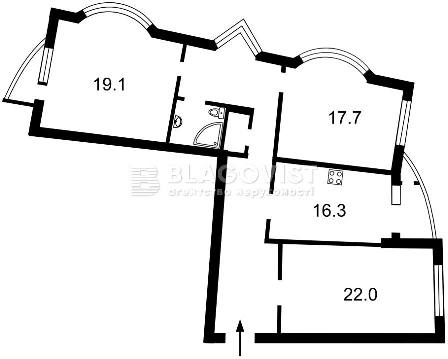 Квартира H-49249, Дніпровська наб., 25, Київ - Фото 6