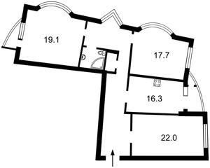 Квартира Днепровская наб., 25, Киев, H-49249 - Фото2