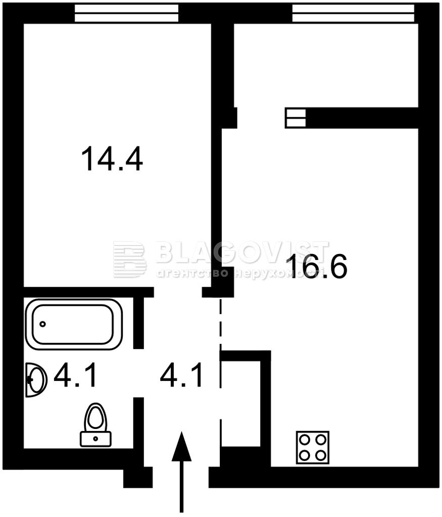 Квартира Z-741509, Теремківська, 4а, Київ - Фото 3