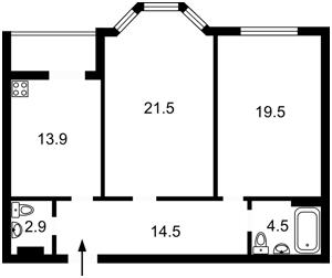 Квартира Дегтярная, 22, Киев, Z-727964 - Фото2