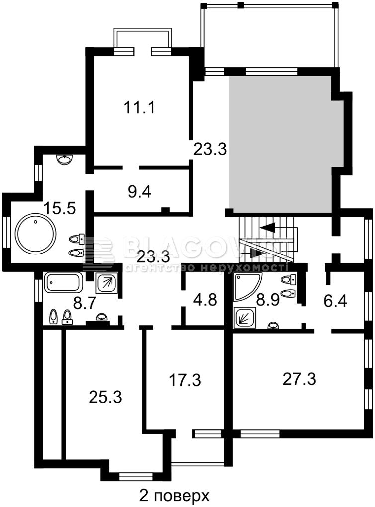 Дом C-108783, Плюты (Конча-Заспа) - Фото 3