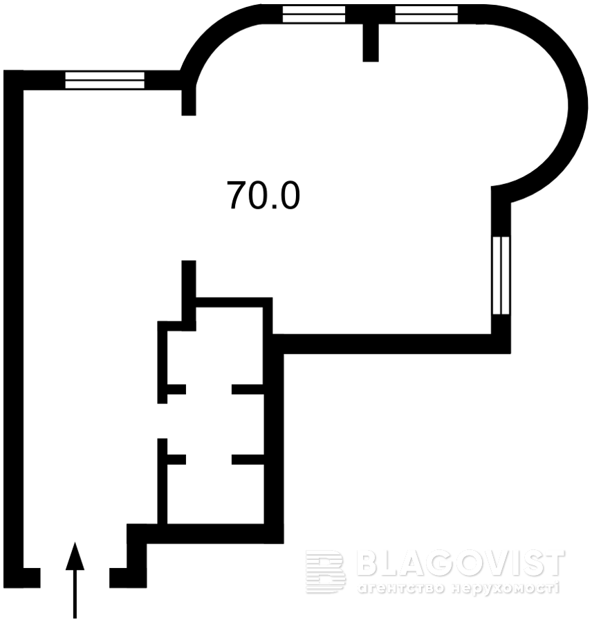 Офис, Драгомирова Михаила, Киев, Z-742977 - Фото 2