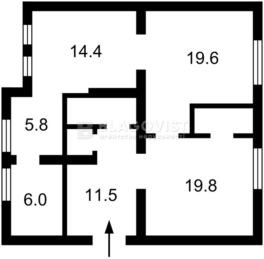 Квартира E-40604, Мельникова, 75, Київ - Фото 3