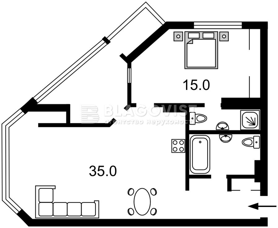 Квартира H-49035, Болсуновская (Струтинского Сергея), 2, Киев - Фото 5