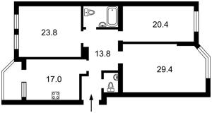 Квартира Ереванская, 30, Киев, C-108803 - Фото2