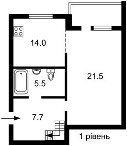 Квартира Амосова пер., 32/2, Софиевская Борщаговка, C-108712 - Фото2