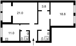 Квартира Шота Руставели, 44, Киев, H-49358 - Фото2