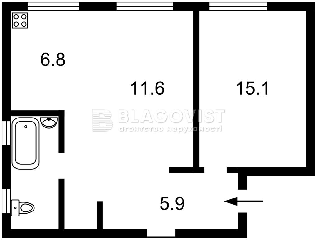 Квартира Z-1744542, Большая Васильковская, 26, Киев - Фото 2