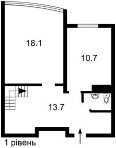 Квартира Ломоносова, 50/2, Киев, Z-743151 - Фото2