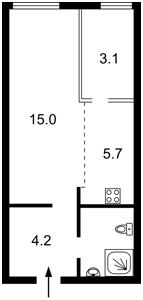 Квартира Соборности просп. (Воссоединения), 17 корпус 2, Киев, Z-744353 - Фото2