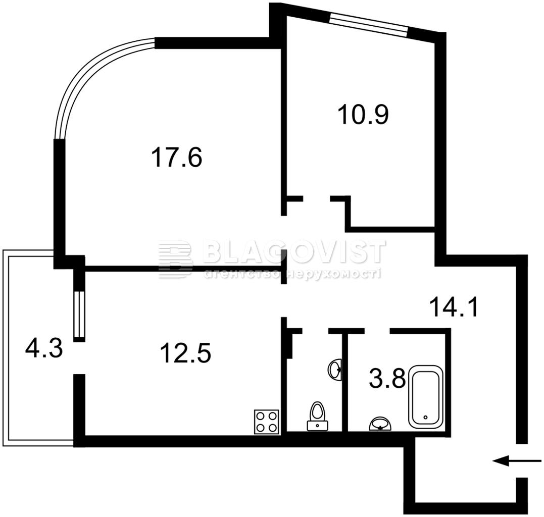 Нежитлове приміщення, D-36863, Клеманська, Київ - Фото 4