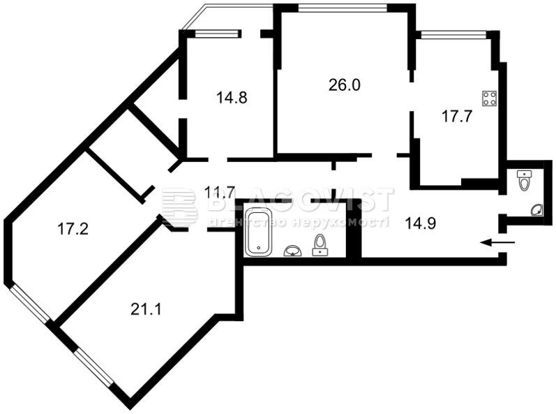 Нежилое помещение, E-40628, Срибнокильская, Киев - Фото 6