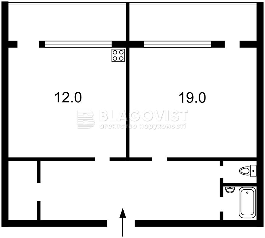 Квартира H-44805, Метрологическая, 56, Киев - Фото 3