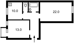 Квартира Богомольца Академика, 6, Киев, Z-747506 - Фото2