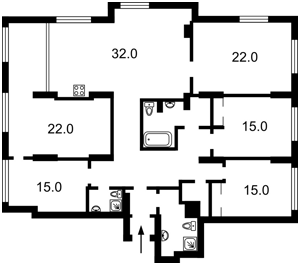 Квартира Лейпцигская, 13а, Киев, D-36951 - Фото2