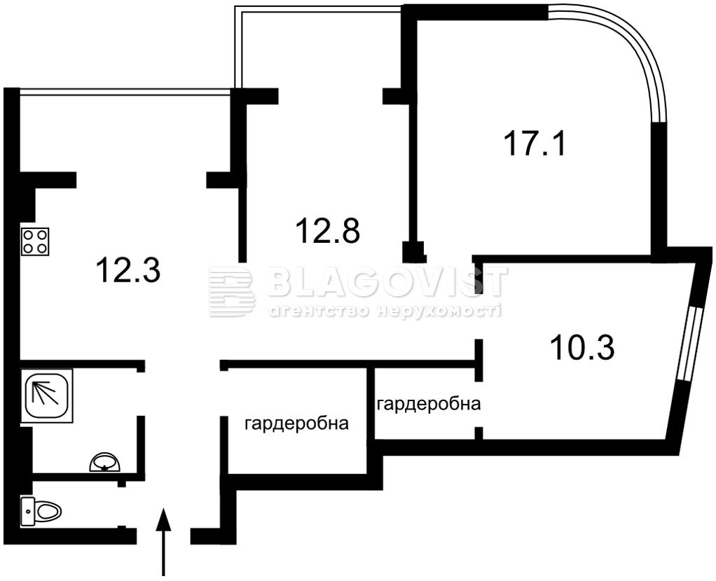 Квартира Z-736597, Каховська (Микільська Слобідка), 62, Київ - Фото 4