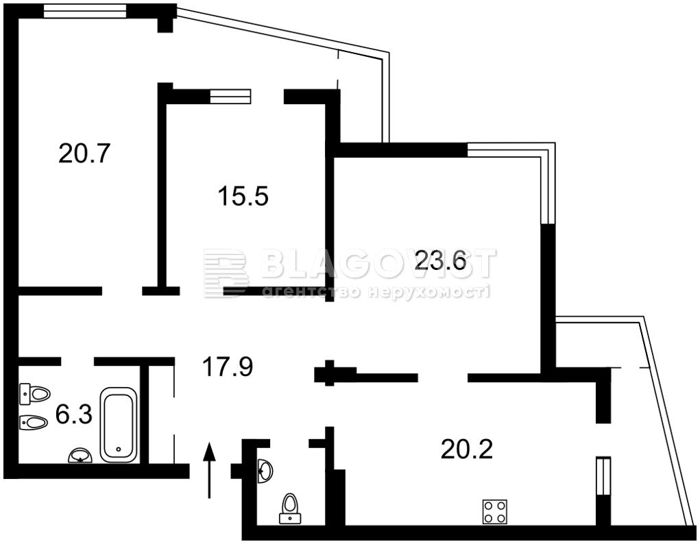 Квартира M-38657, Ушинського, 14б, Київ - Фото 5