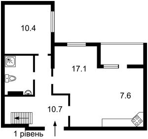 Квартира Радченко Петра, 27-29 корпус 1, Киев, Z-727617 - Фото2