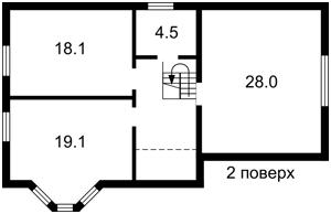 Будинок Прикордонна, Гатне, Z-477922 - Фото 4