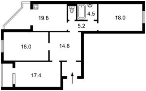 Квартира P-29401, Милославська, 32/51а, Київ - Фото 4