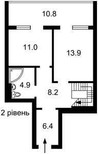 Квартира Z-748322, Правди просп., 13 корпус 3, Київ - Фото 3