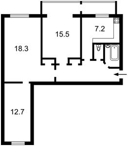 Квартира Z-750854, Чоколовский бул., 18, Киев - Фото 3