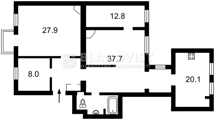 Квартира A-111661, Михайловский пер., 12, Киев - Фото 2
