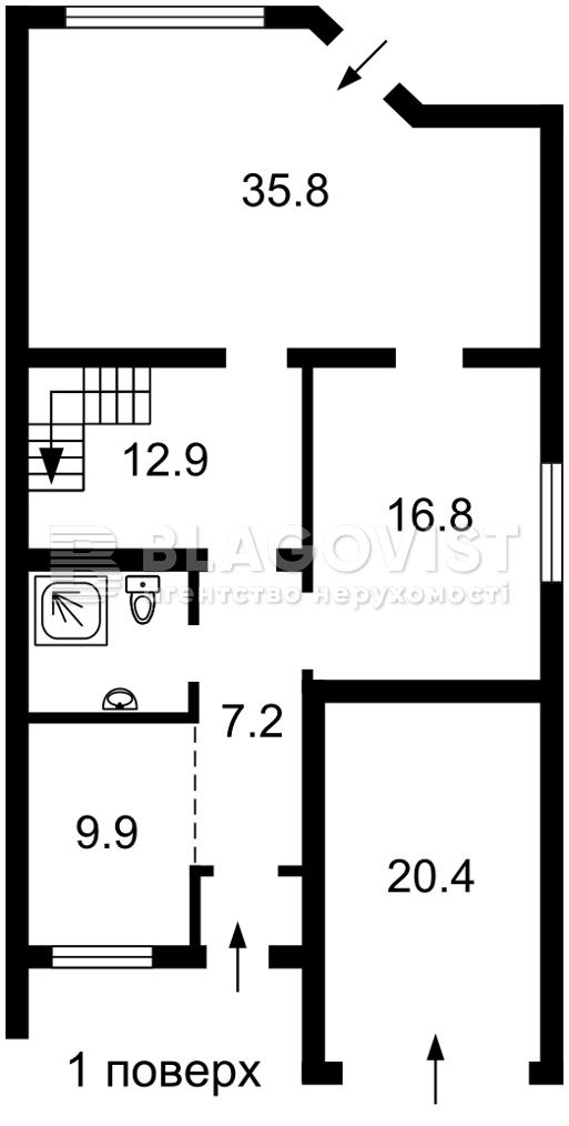 Дом Z-750151, Здоровка - Фото 3
