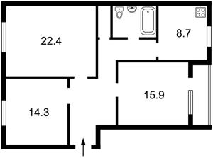 Квартира Предславинская, 38, Киев, H-49536 - Фото2