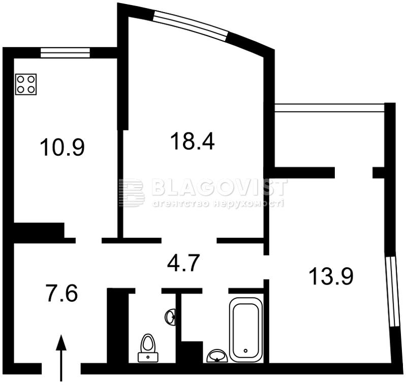 Квартира Z-752749, Оболонский просп., 1 корпус 3, Киев - Фото 4
