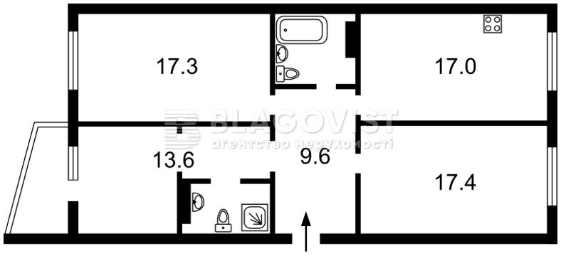 Квартира E-40720, Софии Русовой, 7, Киев - Фото 4