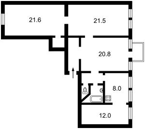 Квартира M-38715, Мазепи Івана (Січневого Повстання), 16, Київ - Фото 4