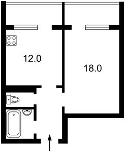 Квартира Ревуцкого, 42, Киев, R-37597 - Фото2