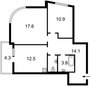 Квартира Клеманская, 7 корпус 2, Киев, Z-742713 - Фото2