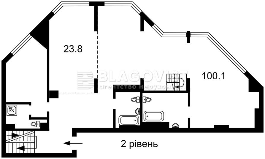 Квартира F-44618, Болсуновская (Струтинского Сергея), 2, Киев - Фото 6