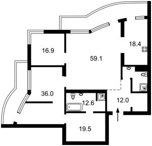 Квартира H-49518, Панаса Мирного, 28а, Київ - Фото 5