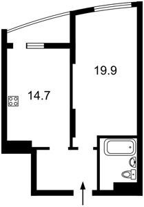 Квартира Харківське шосе, 188, Київ, R-35797 - Фото2