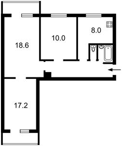 Квартира Плеханова, 4а, Київ, H-49649 - Фото 2