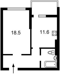 Квартира Бульварно-Кудрявская (Воровского) , 15а корпус 2, Киев, Z-756514 - Фото2
