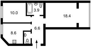 Квартира Мартинова, 12, Софіївська Борщагівка, A-112065 - Фото2