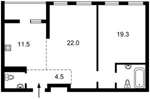 Квартира D-37070, Победы просп., 72, Киев - Фото 3