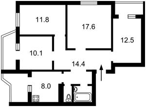 Квартира Z-1747957, Попова Александра, 5, Киев - Фото 2
