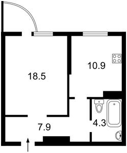 Квартира Ломоносова, 50/2, Киев, L-28376 - Фото2