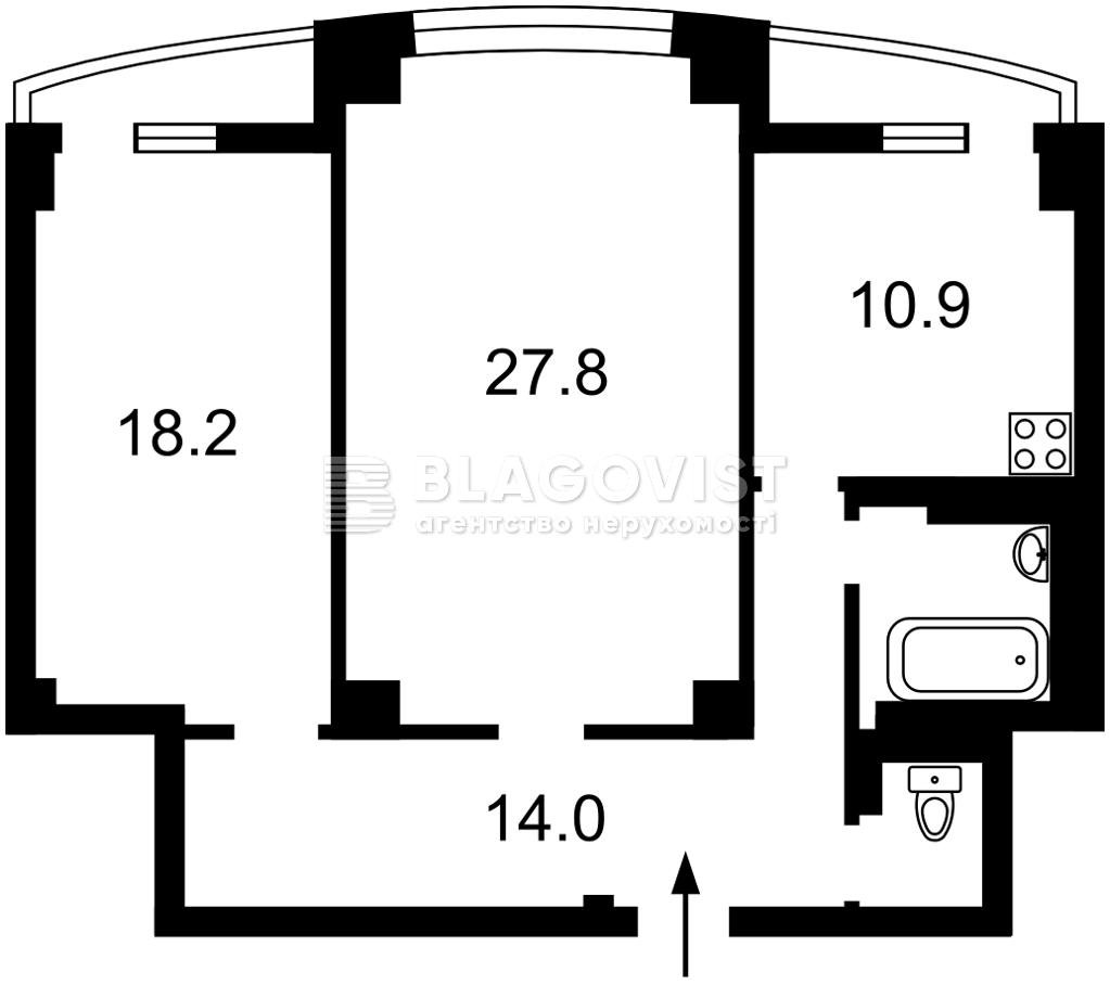 Квартира H-49634, Макіївський пров., 2, Київ - Фото 3
