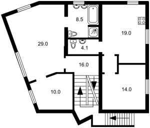 Дом Партизанская, Козин (Конча-Заспа), R-37954 - Фото2