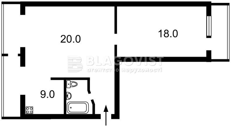 Квартира A-112079, Краснопольская, 11/13, Киев - Фото 4