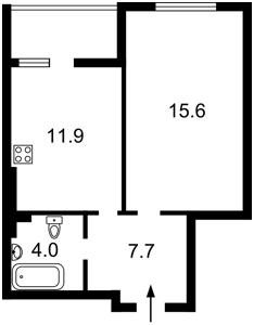 Квартира Пригородная, 24, Новоселки (Киево-Святошинский), H-49619 - Фото2