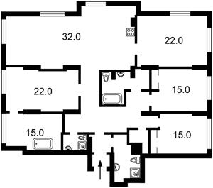 Квартира D-36951, Лейпцигская, 13а, Киев - Фото 5