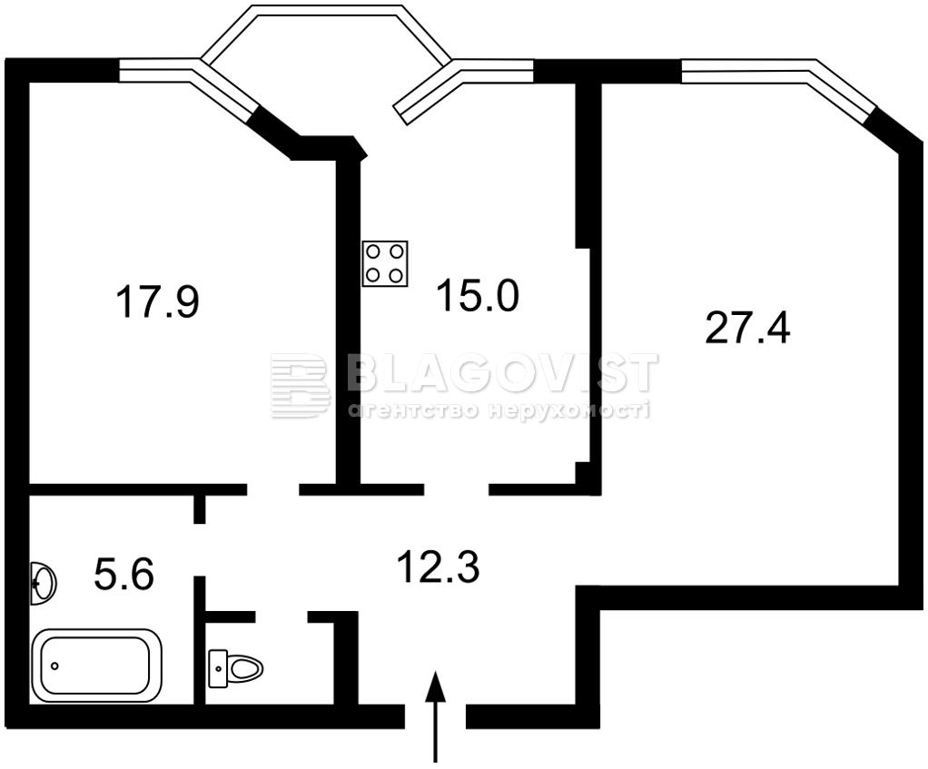Квартира E-40654, Ереванская, 30, Киев - Фото 5